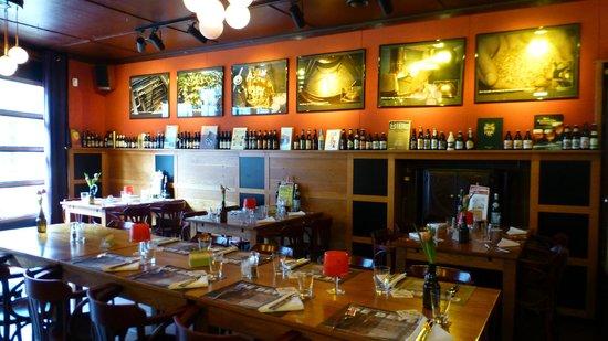 Decoration of the restaurant room - Picture of De Beyerd, Breda ...