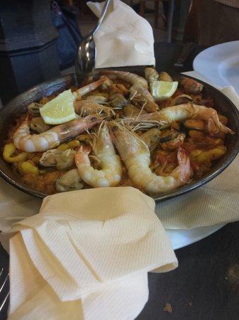 Orixe : Paella malota