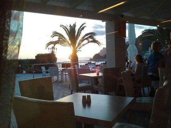 Mayor Pelekas Monastery: the view from the restaurant