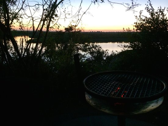 Mopani Rest Camp: Braai with a view :-)