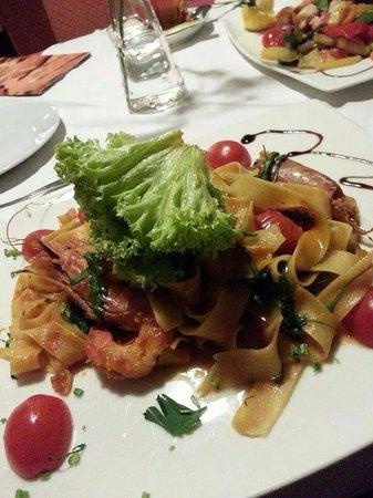 Ristorante Beccofino : The pasta we ordered.... Oops I forgot the name of this dish... But looks lovely right?