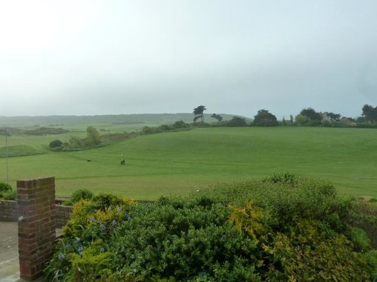 Brecon Guest Accommodation: View from breakfast room