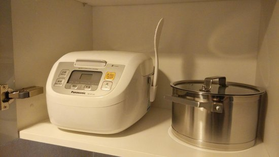 Starr Hotel: rice/congee cooker