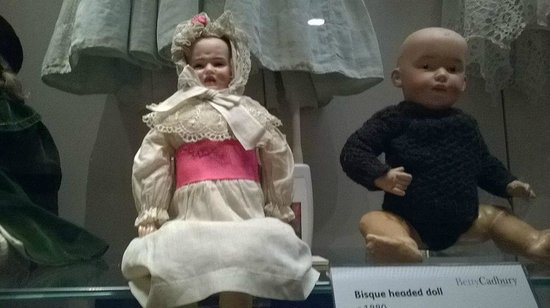 Sudbury Hall: strange creepy toys