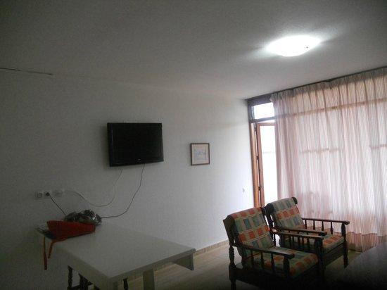 Apartamentos El Palmar: living room