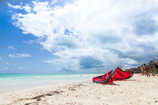 Sol Cayo Guillermo: Vue de la plage face au resort