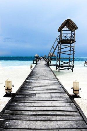 Sol Cayo Guillermo: Grande promenade à proximité du resort