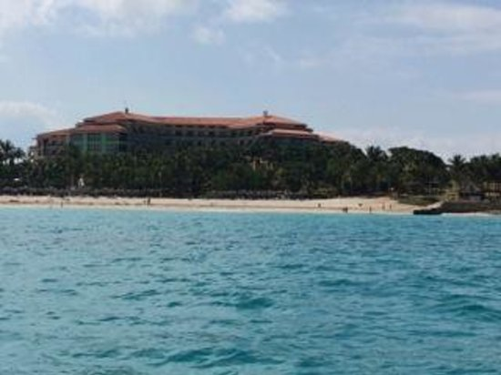 Melia Las Americas from Paddle Boat