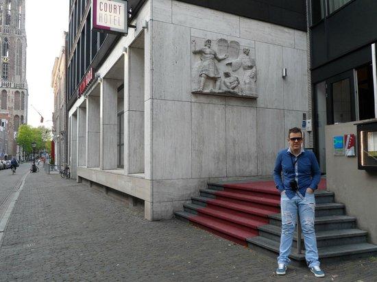 Court Hotel City Centre Utrecht: Esterno Hotel