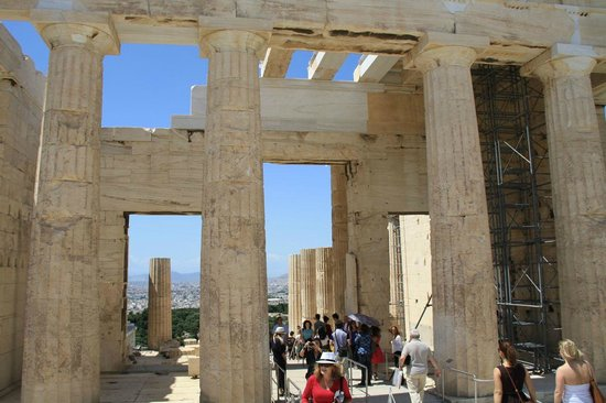 Acropole : Gateway to the top of the Acropolis