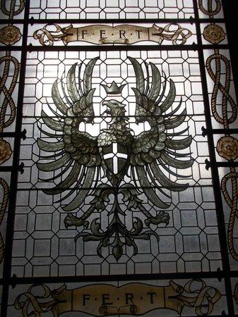 Castello di Racconigi: LO stemma sabaudo