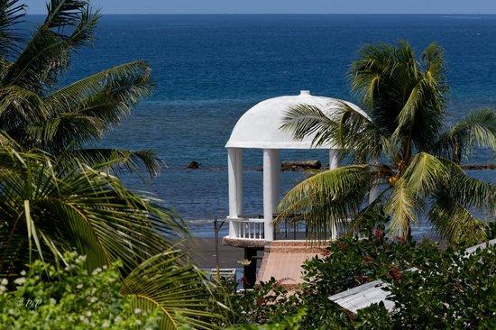 Thalassa PADI Dive Resort: Next to the massage cabin
