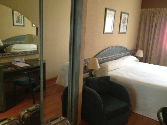 Monte Carmelo Hotel : Habitación