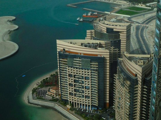 Jumeirah at Etihad Towers: View from the room