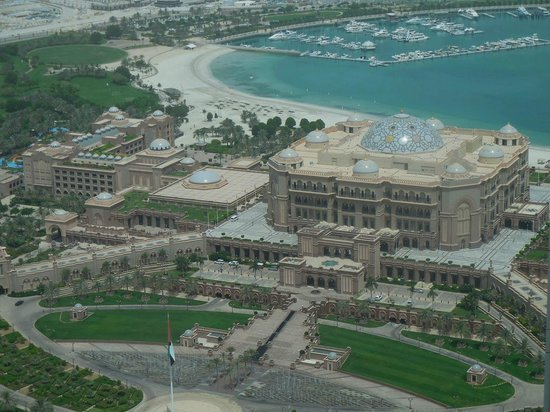 Jumeirah at Etihad Towers: View of the emirates Palace from the room