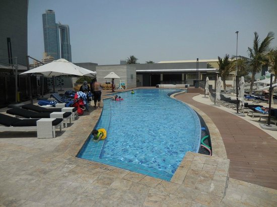 Jumeirah at Etihad Towers: The children's pool