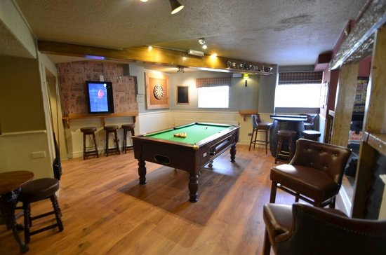 Barley Mow: Games room