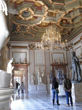 Musées du Capitole : Kapitolinische Museen, Rom - April 2014 - 13