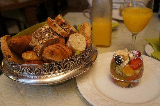La Banasterie : 朝食