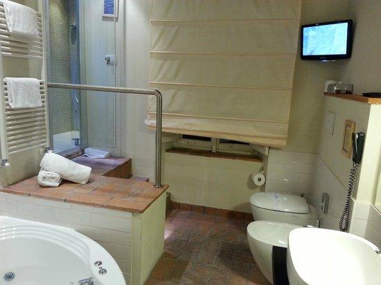 Albergo San Martino: bagno camera tre scalini 2