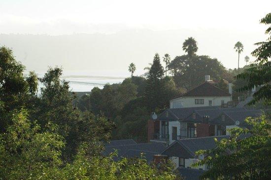 HomeBase Knysna: Ausblick vom Balkon