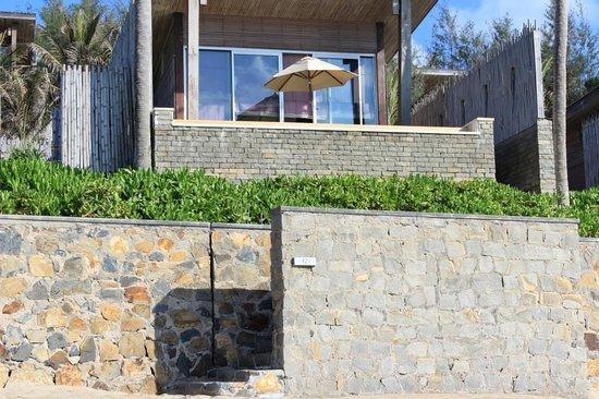 Six Senses Con Dao : My ocean front deluxe villa
