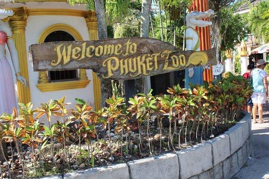Phuket Zoo: entree zoo