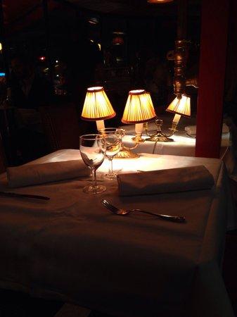 Chez Francis : tisch für 2