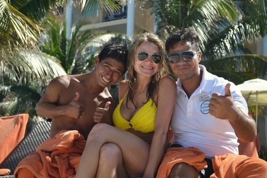 Now Jade Riviera Cancun: Love this entertainment team!!