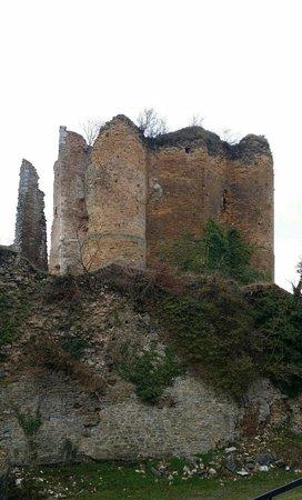 Chateau de Franchimont: Muurtje