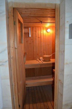 Pan Pacific Singapore: sauna