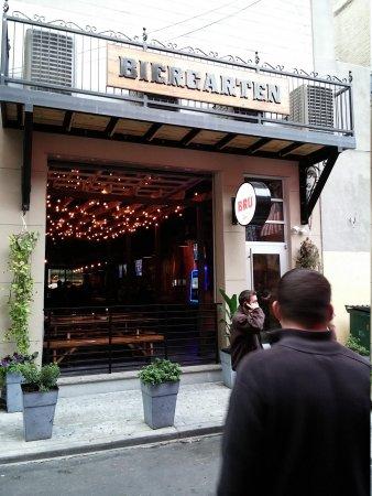 McGillin's Olde Ale House: across the street