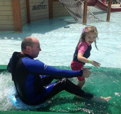 Aliathon Holiday Village: If you are brave in April try the water...