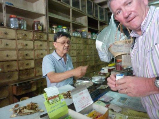 Old Phuket Town : Choix délicat d'une décoction