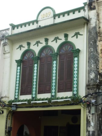 Old Phuket Town : Vestige d'autrefois