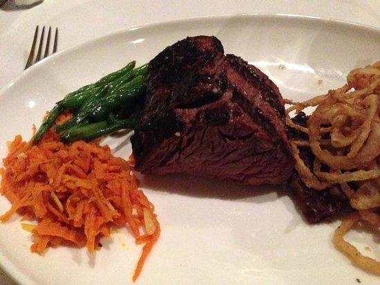 Bern's Steak House : A perfect steak - chateaubriad