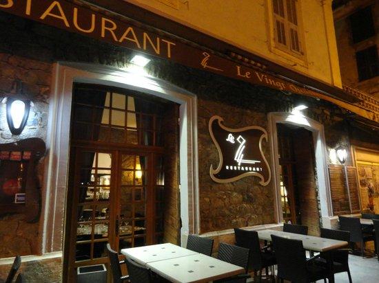 Le 24 : Le restaurant
