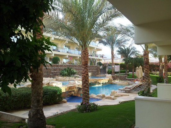 Xperience Sea Breeze Resort: Pool between blocks 12 & 14.
