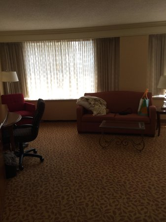 Crystal City Marriott at Reagan National Airport: More room