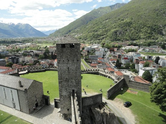 Castelgrande: view from one of the towers