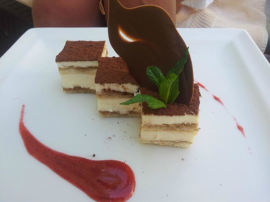 Kech Boutique Hotel & Spa : tiramisu