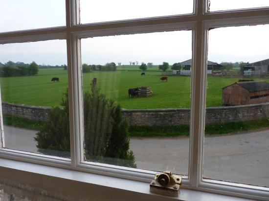 Mallard Grange: View from the bedroom window