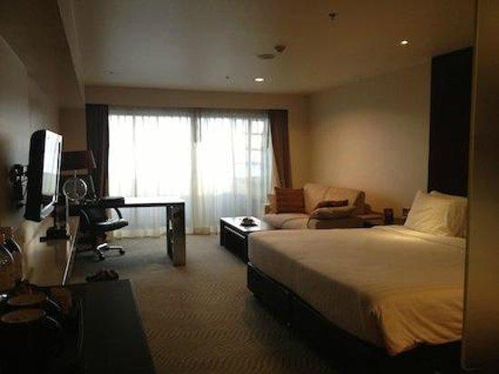 Furama Silom: 部屋は広め。