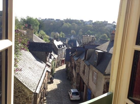 Le Logis du Jerzual: View from our window