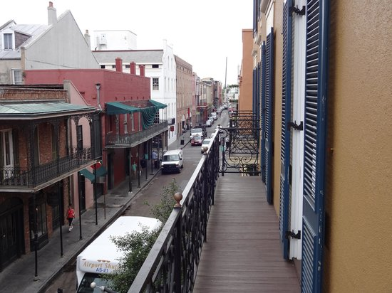 Hotel Mazarin : View from Balcony