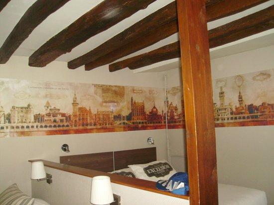Hôtel Excelsior Latin: 4-Bett-Zimmer