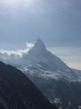 Restaurant Enzian : Matterhorn view from Enzian