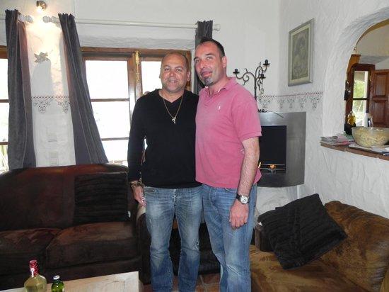 Villa Chante Coucou: Marco et moi