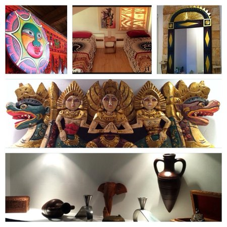 Bambook Bamboo Guesthouse: Double and twin rooms