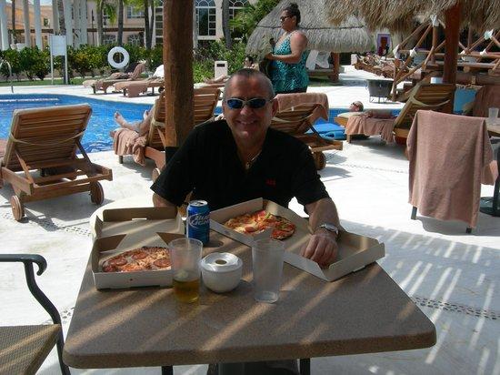 Excellence Riviera Cancun : Ne manquez pas la pizza